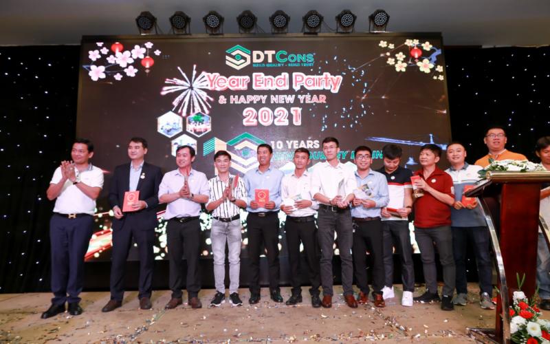 CBNV DTCons tại đêm tất niên và chào năm mới 2021